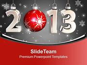 2013_New_Year_Celebration_With_Glitters_Holidays_PowerPoint_Templates_