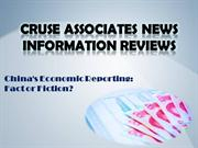 China's Economic Reporting: Fact or Fiction?-knowhow