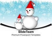 Snowmen_On_Snowflakes_Background_Christmas_Eve_PowerPoint_Templates_PP