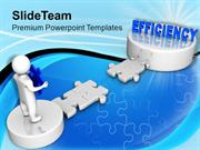 3d_Man_Corss_Path_To_Efficiency_Business_PowerPoint_Templates_PPT_Them