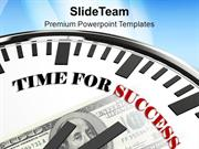 Clock_Time_For_Success_Future_Goal_PowerPoint_Templates_PPT_Themes_And