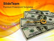 Key_To_Success_On_Dollar_Notes_Success_PowerPoint_Templates_PPT_Themes