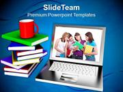 Modern_Education_And_Online_Learning_Internet_PowerPoint_Templates_PPT