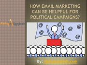 How Email Marketing Can Be Helpful For Political Campaigns