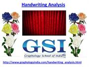 Handwriting Analysis