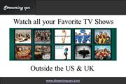 Streaming TV Shows Online