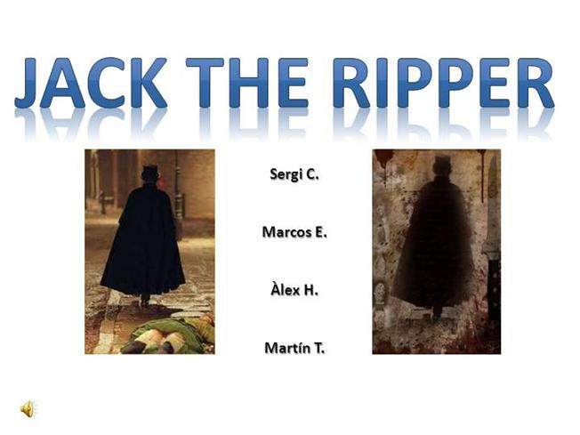 Ppt jack the ripper powerpoint presentation id:2591394.