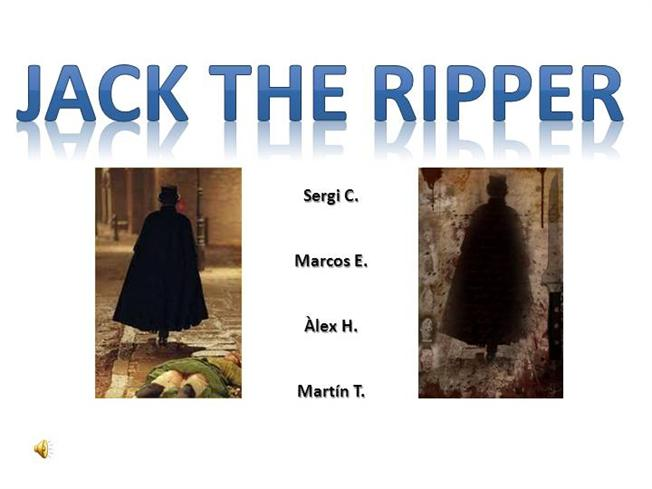 Ppt jack the ripper powerpoint presentation id:1900279.