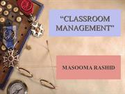 Classroom Management-feb 2013