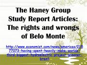 The Haney Group Study Report Articles - The rights and wrongs of Belo
