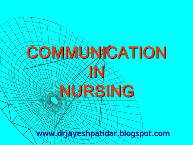 Communication in nursing authorstream communication in nursing fandeluxe Image collections