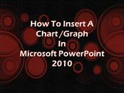 How to Insert Charts in PowerPoint 2010