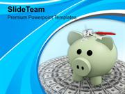 Piggy_Bank_On_Dollar_Money_Savings_PowerPoint_Templates_PPT_Themes_And