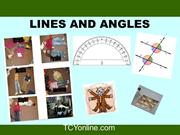 Lines and Angles (Class - IX)