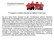 IT Support in Milton Keynes for Better IT