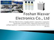 power film capacitor  manufacturer
