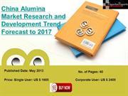 2013-2017 Forecasts of China Alumina Market