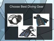 choose best diving gear