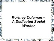 Kortney Coleman~Social Worker