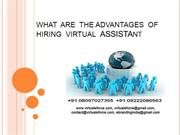 THE ADVANTAGES OF HIRING VIRTUAL ASSISTANT