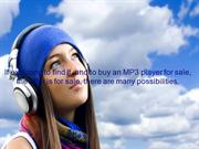 mp3 player sale