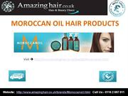 Moroccanoil Hair Products - Amazing Hair