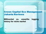 Crown Capital Eco Management Jakarta Reviews