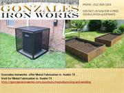 Gonzales IRon Works - Metal Fabrication in  Austin TX