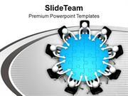Human_Person_Sitting_On_Round_Tabble_PowerPoint_Templates_PPT_Themes_A