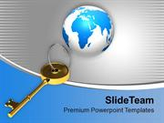 Illustration_Of_Globe_With_Golden_Key_PowerPoint_Templates_PPT_Themes_
