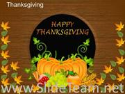 Happy Thanksgiving PPT Template