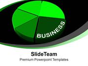 Image_Of_Green_Business_Pie_Chart_PowerPoint_Templates_PPT_Themes_And_