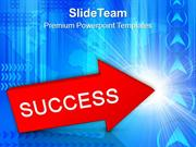Red_Arrow_With_Word_Success_PowerPoint_Templates_PPT_Themes_And_Graphi