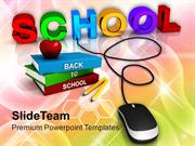 School_With_Computer_Mouse_Education_Concept_PowerPoint_Templates_PPT_