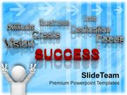Success_At_Forefront_Business_Concept_PowerPoint_Templates_PPT_Themes_