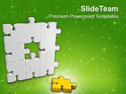 The_Center_Part_Of_Puzzle_PowerPoint_Templates_PPT_Themes_And_Graphics