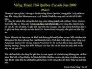 hcd_Vieng tham thanh pho Quebec Canada (phan 2)