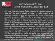 Great Indian Outdoors-GIO