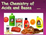 Chemistry 12 Acids and Bases Intro