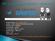 FB Traffic Sniper Review  Overview