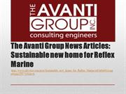The Avanti Group News Articles: Sustainable new home for Reflex Marine
