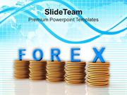 Coins_Graph_With_The_Word_Forex_PowerPoint_Templates_PPT_Themes_And_Gr