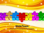 Connected_Colorful_Puzzle_Parts_PowerPoint_Templates_PPT_Themes_And_Gr