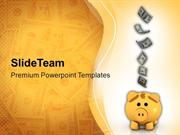 Dollars_Falling_Into_Piggy_Bank_PowerPoint_Templates_PPT_Themes_And_Gr