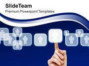 Finger_Pushing_Button_On_Touch_Screen_PowerPoint_Templates_PPT_Themes_