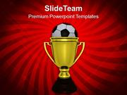 Golden_Winner_Trophy_With_Soccer_Ball_PowerPoint_Templates_PPT_Themes_