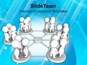 Groups_Of_People_In_Network_Communication_PowerPoint_Templates_PPT_The