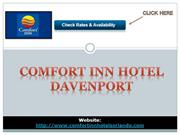 Comfort Inn hotel davenport