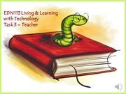 EDN113 Living & Learning with Technology