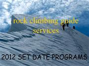 Ice Climbing Guide Services